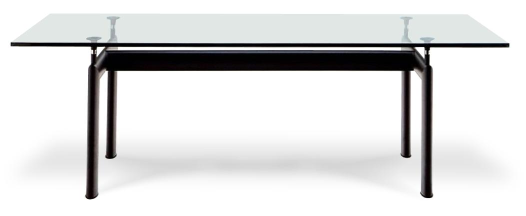 Tavoli le corbusier bauhaus furniture mobili bauhaus for Tavoli pranzo cristallo