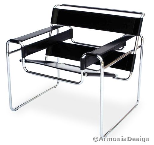 Poltrona wassily bauhaus furniture mobili bauhaus for Bauhaus arredamento
