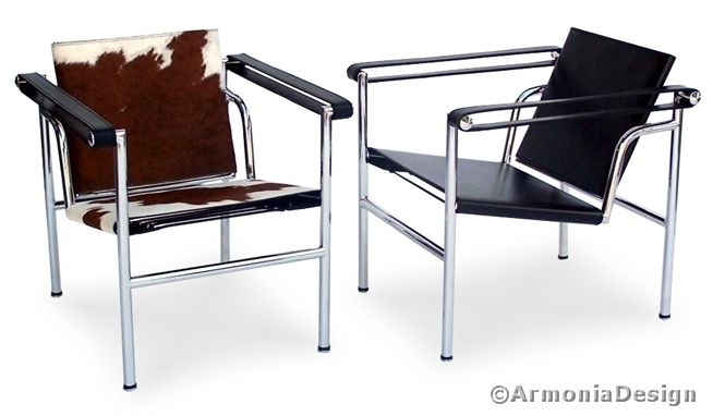 poltroncina basculante le corbusier seduta in pony 19 296 46 bauhaus furniture mobili. Black Bedroom Furniture Sets. Home Design Ideas