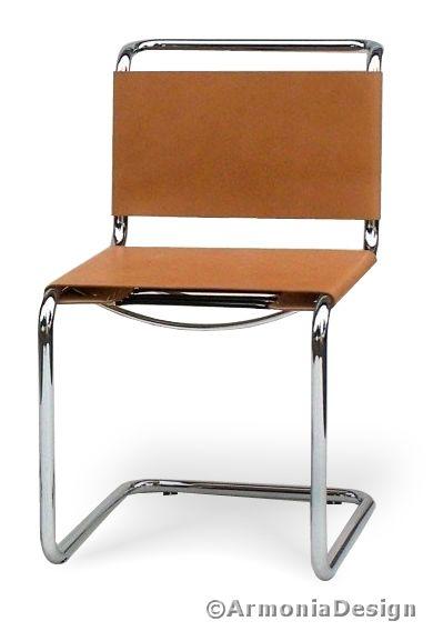 Sedia mart stamm cuoio pieno fiore u uac with sedie design for Sedie design famose prezzo